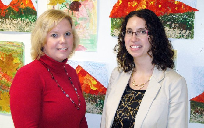 ELCS teachers Sarah Rice and Kaitlin Fielder are seeking help for the annual Secret Santa Society drive.