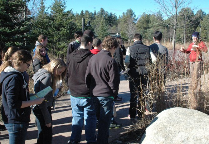 Students from throughout the state of New York gathered at the Wild Center for the fourth annual Adirondack Youth Climate Summit Nov. 14-15.