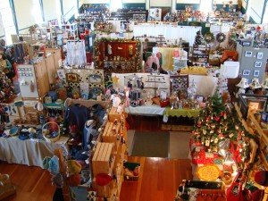 Shoppers will find unique gift items at the Shaker craft fair.