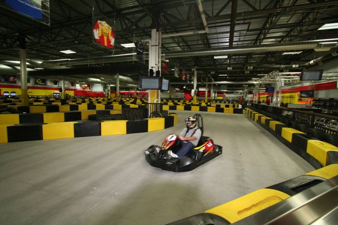 Get revved up at the Pole Position Raceway, which debuted in early October at Destiny USA in Syracuse.