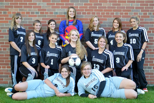 The Crown Point Central School girls soccer team had new uniforms this season thanks to their hard work and community support.