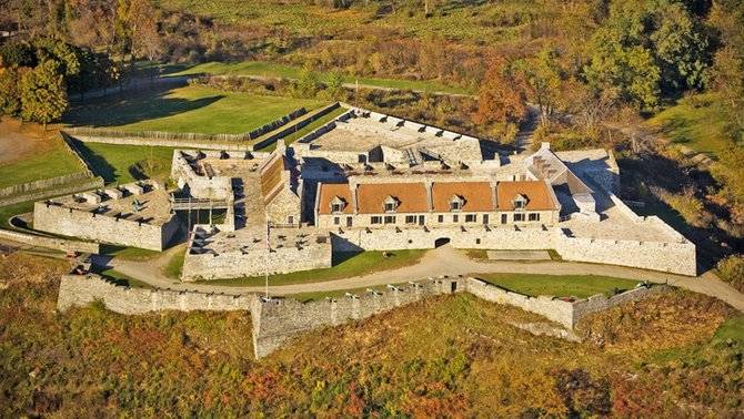 Fort Ticonderoga officials report a banner year for the historic landmark. Revenues, attendance, donations and other measures are all up in 2012, according to Beth Hill, president and CEO of the not-for-profit fort.
