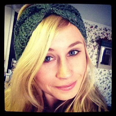 Amanda Fiandaca's headband earwarmers are one of the most popular items in her Crooked by Design shop on Etsy.