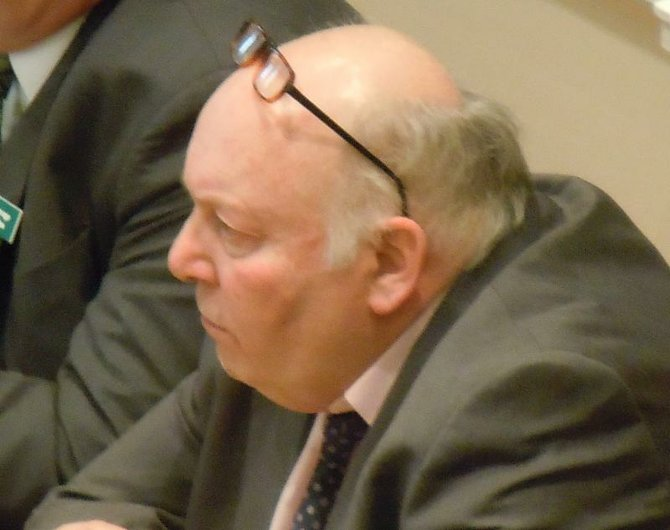 Vermont State Rep. Greg Clarke (1947-2012) of Vergennes.