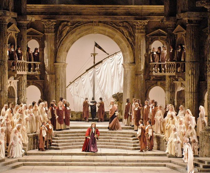 "Mozart's ""La Clemenza di Tito"" is one of three Met Opera Live in H.D. broadcasts to be shown at Middlebury's Town Hall Theater in December."