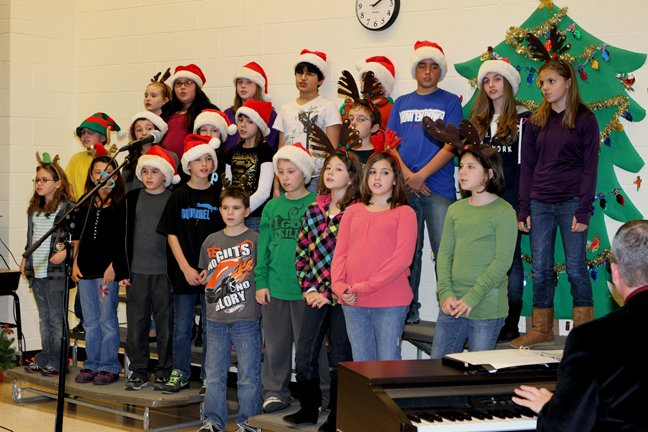 "Downtown Ticonderoga visitors will be treated to the sounds of the holiday season during the community's ""Shopping & Dining Night"" Friday, Dec. 7. Ticonderoga Central School music teachers Michael Iturrino and Jolene Harrigan will have students perform 5 to 8:30 p.m. throughout downtown."