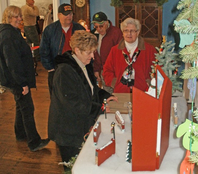 Mary Lou Greenough's Christmas decorations were an attraction at last year's Festival of Trees.The 22nd annual Festival of Trees, sponsored by the Ticonderoga Historical Society, will be held Sunday, Dec. 9, 1 to 3 p.m. at the Hancock House at Moses Circle in Ticonderoga.