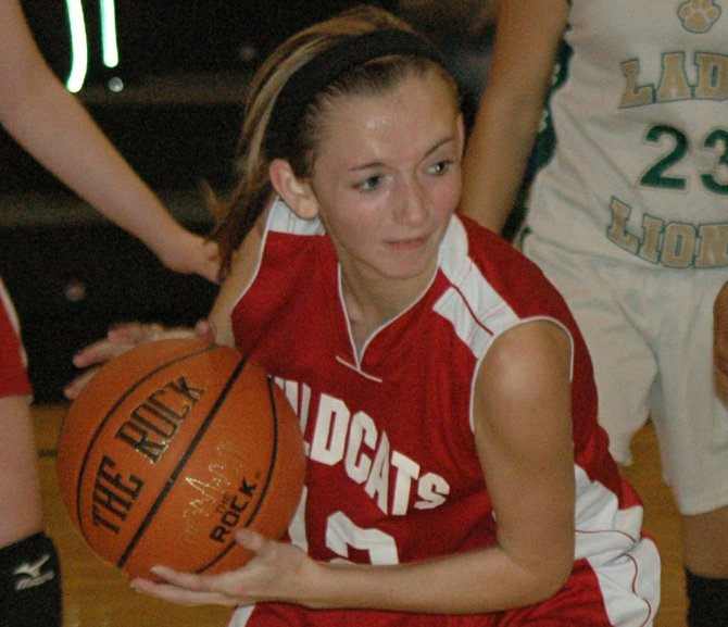 Megan Hall and Schroon Lake edged Willsboro, 32-26 in Mountain and Valley Athletic Conference girls basketball play Dec. 5.