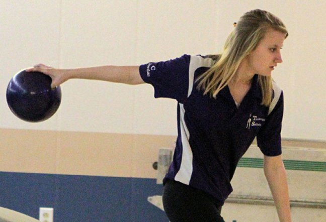 Jordan McKee of Ticonderoga had a 604 series as the Sentinels defeated Moriah in Champlain Valley Athletic Conferene bowling action Dec. 10.