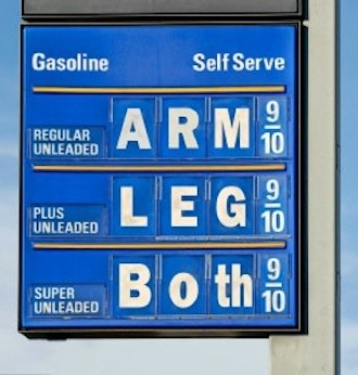 U.S. Sen. Bernie Sanders (I-Vt.) announced a new website to help consumers track gasoline prices in Vermont, where prices in the northwestern part of the state are 30 cents above the national average.