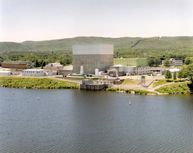 Vermont Yankee Nuclear Power Station, along the Connecticut River, in Vernon, Vt.
