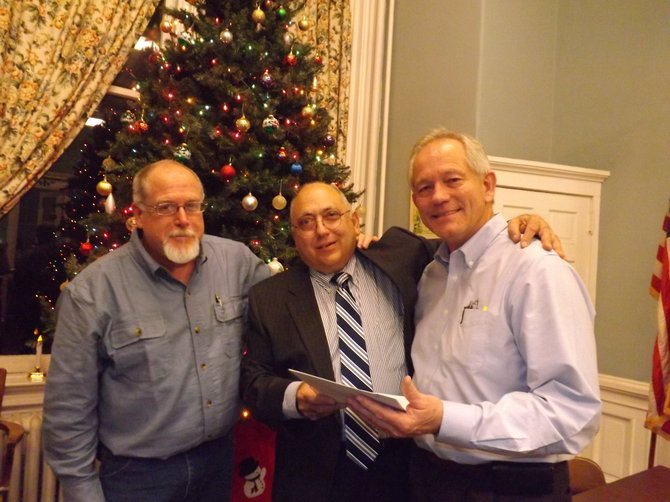Fair General Manager Jeff Townsend, Ballston Spa Mayor John Romano and Fair President Bill Schwerd reached an agreement for mass gatherings permit at the Dec. 10 Village Board meeting, allowing the village to continue hosting the county fair.