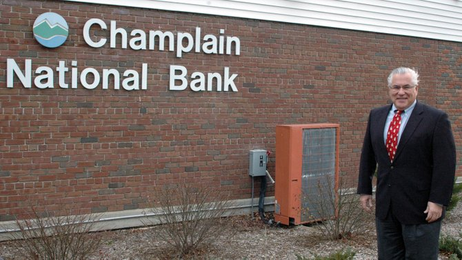Champlain National Bank President and CEO Jon Cooper is retiring from the banking industry affective Feb. 1.