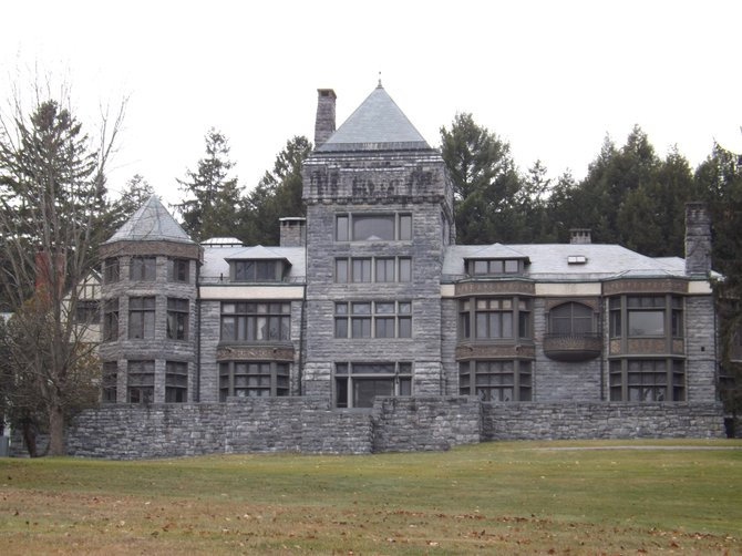 Yaddo and its gardens were left to Saratoga Springs by Spencer Trask and his wife, Katrina, in 1900.
