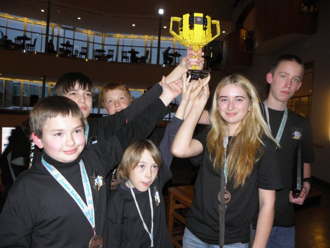 Local youth win big at Clarkson Lego competition.