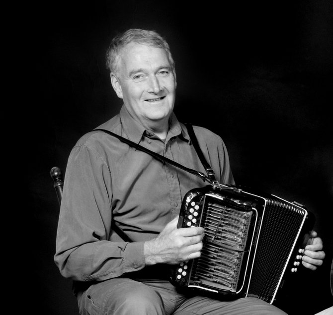 "'Old-style' West Kerry singer and accordion player Seamus Begley performs during a recent show. The Earlville Opera House's presentation of ""Irish Christmas in America"" will be held at 7 p.m. Saturday, Dec. 22, in the Catherine Cummings Theater, at 16 Lincklaen St. in Cazenovia."