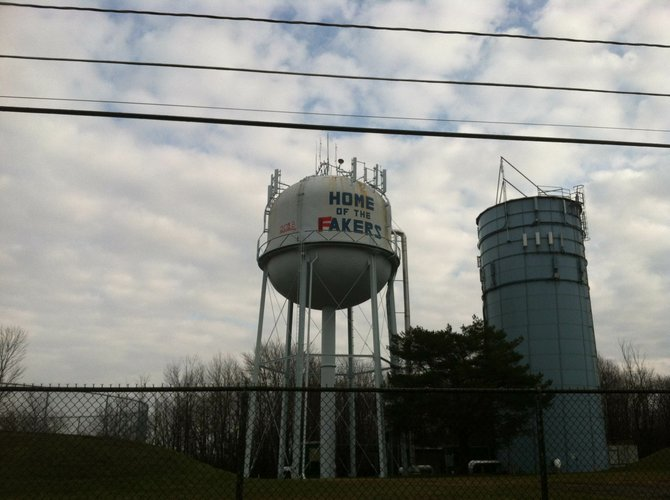 The village water tank was vandalized last Friday, Dec. 14. Village police are currently investigating the crime. The cost to repair the paint job is estimated to cost thousands of dollars.