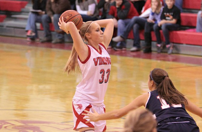 Taylor Sprague scored 11 points as Moriah downed Northeastern Clinton, 50-42, in Champlain Valley Athletic Conference girls basketball action Dec. 20.