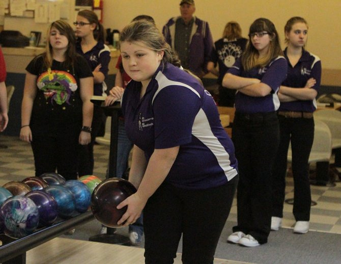 Jeanette Coon scored a 186 game and 460 triple as Ticonderoga downed AuSable Valley, 4-0, in Champlain Valley Athletic Conference girls bowling Dec. 21.