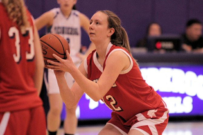 Madison Stahl scored 11 points as Moriah topped Ticonderoga, 44-35, in Champlain Valley Athletic Conference girls basketball action Jan. 4.