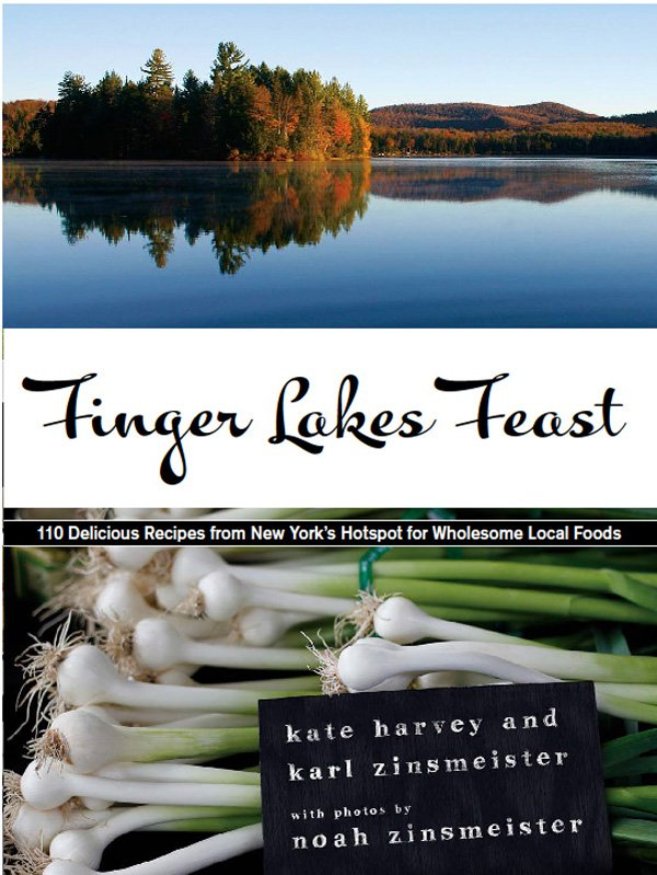 """Finger Lakes Feast"" includes 110 recipes, 28 essays and 126 color photos highlighting the Finger Lakes food culture. Some recipes include ""Honey Spice Drops,"" ""Raspberry Red-Wine Sorbet,"" ""Cornell Chicken"" and ""Maple-glazed Carrots."" To learn more about the new cookbook, visit FingerLakesFeast.com."