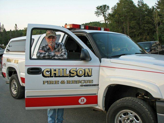 Jim Davis has elected a trustee of the Chilson Volunteer Fire Department.