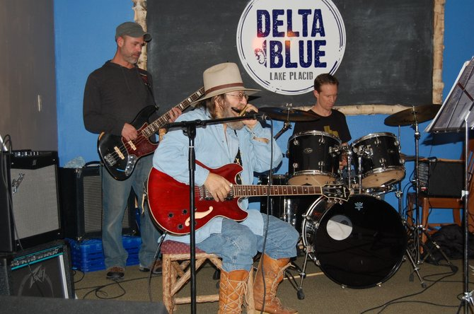 Muscians play during the Delta Blue Open Mic Blues Jam on Jan. 9. 