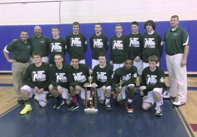 The Mount St. Joseph Academy's Men's Basketball Team won the Granville American Legion Basketball Tournament.