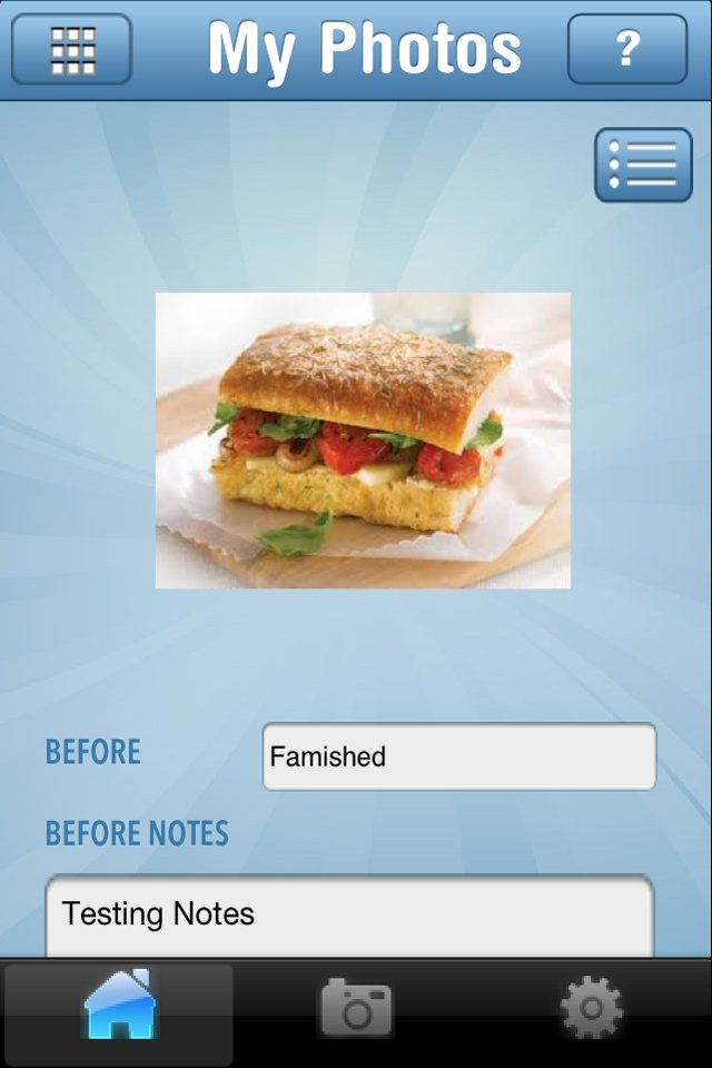 Christy Venter created an iPhone app that aims to keep people on track with their diet goals.