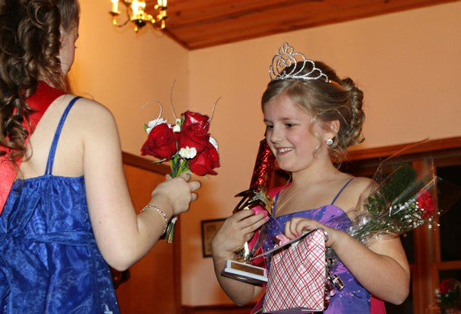 Delaney Reeves was crowned queen at the 2012 Snow Queen Pageant during the annual Hague Winter Weekend. 