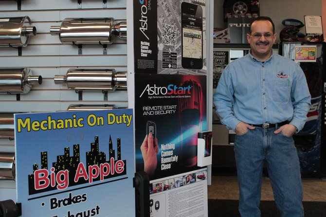 BigApple: Big Apple Audio owner Billy Ferris is happy to serve the North Country from his store's new location on 17 Durkee Street in downtown Plattsburgh.