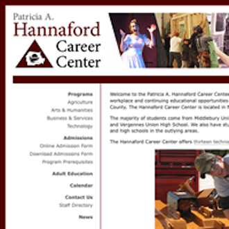 Hannaford Regional Technical School District's proposed budget for the 2013-14 academic year and the annual meeting articles appear in the 2013 Hannaford Career Center Annual Report.