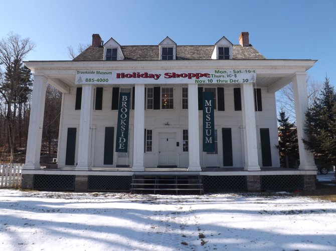 Brookside Museum on a sunny winter day