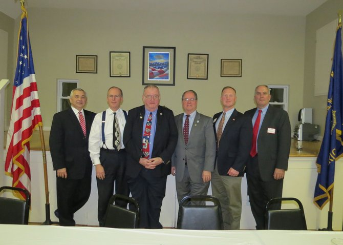Cazenovia area officials gathered at the American Legion last week to participate in the State of the Area meeting.