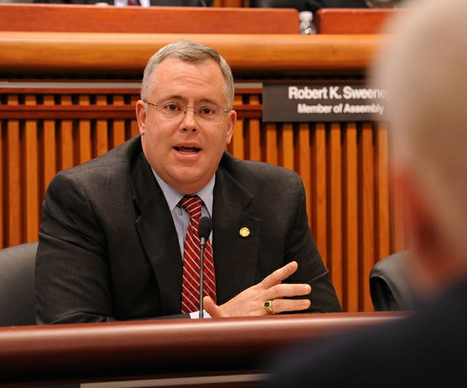 Assemblyman Dan Stec has not endorsed the mandatory inspection and decontamination program, but he expressed his support for Lake George during a Feb. 6 Assembly Environmental Conservation Committee hearing with DEC Commissioner Joseph Martens.