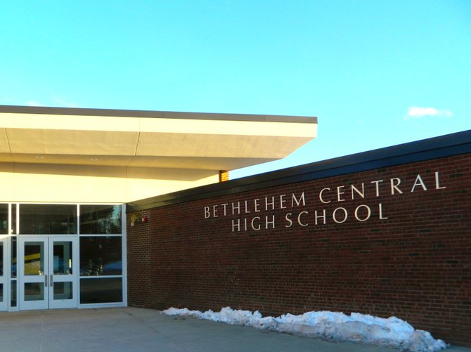 Bethlehem Central High School, winter 2012.