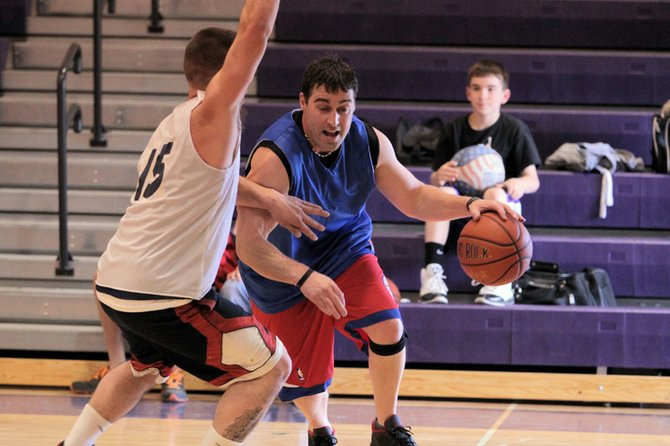 Jamie Rockhill helped the senior team win the 2012 Ticonderoga Alumni Basketball Tournament. The 2013 tourney will be played March 23 at Ti High School.