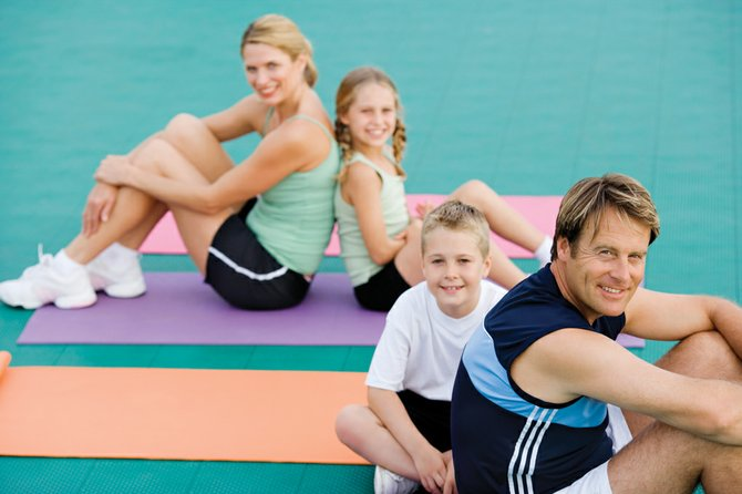 Everyone agrees that kids need a healthy amount of exercise every day. Although most schools have extensive physical education programs, family activity is a key component in keeping kids  up and moving.