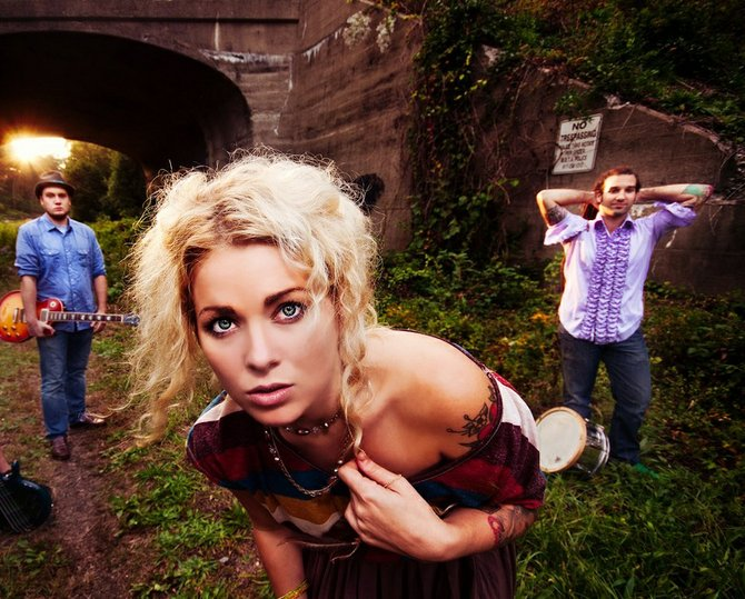 Hayley Jane and the Primates, a Boston-based rock band, will perform at Merchants Hall in downtown Rutland Friday, Feb. 15.