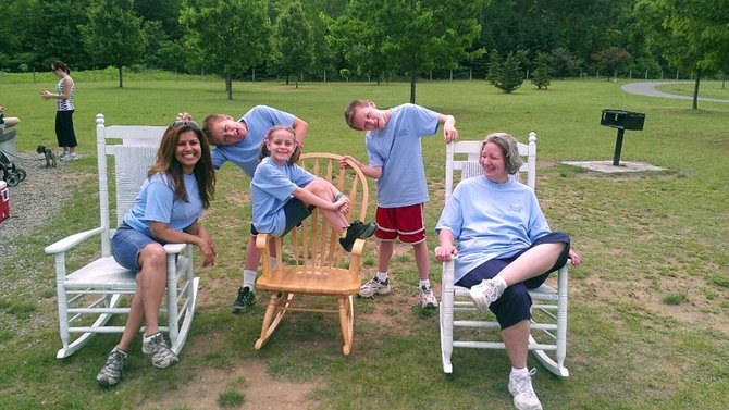 The Walk & Rock fundraiser is a walk in honor of the children who have gone too soon. Rocking chairs along the path signify the families that have lost a baby. The local chapter of TEARS is planning a second walk in June.