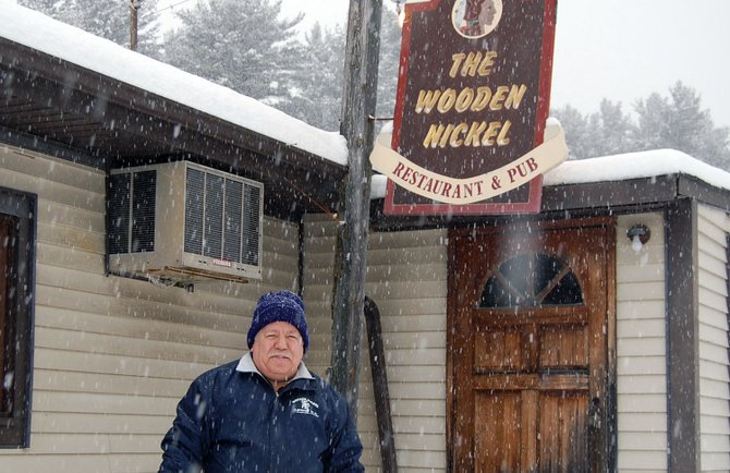 Jim Olsen, owner of the Wooden Nickel, will host the annual Fish Fry to raise money for the Elizabethtown and Lewis Fire Departments for the 20 year.