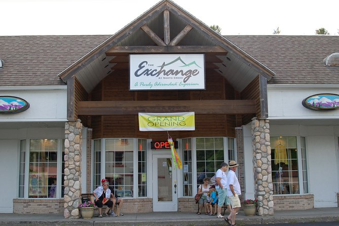 The Exchange at North Creek, as seen in August 2012