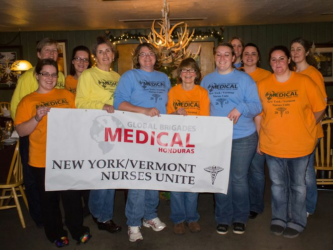 NY-VT Nurses Unite, a group of area health professionals and students, will visit Honduras March 16-23. The group will provide medical care for the poor and under-served. 