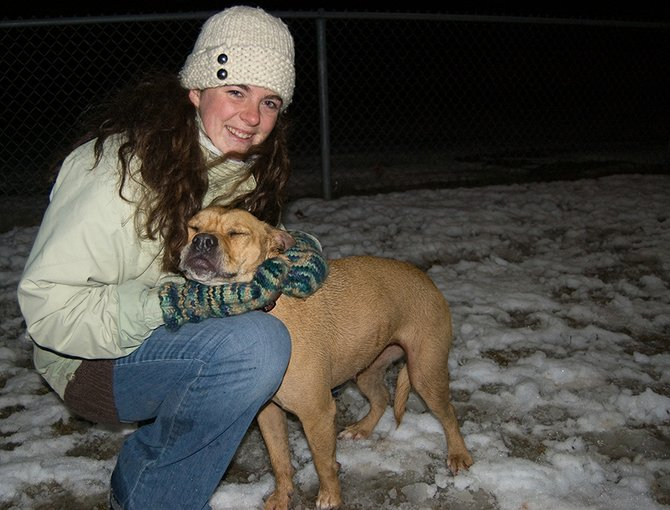 Mary Jane Sansevere organized residents frequenting Niskayuna's dog park, located in Blatnick Park, to petition the town to install lights, which were recently added to the park.