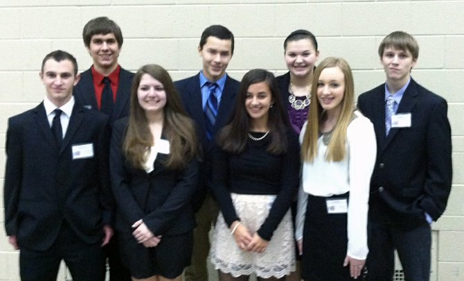 Members of the Elizabethtown-Lewis Central School Model UN group traveled to Harvard for the 20th year to attend the annual event.