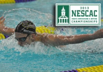 Middlebury College will challenge for the NESCAC crown this weekend when the 2013 NESCAC Men's Swimming and Diving Championships get underway. The three-day meet begins on Friday, Feb. 22, with preliminary heats in the morning and championship races in the evening at the Wesleyan University Natatorium in Middletown, Conn.