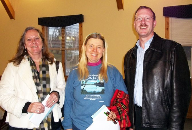 Winners from the 2012 Scrabble Tournament for first place was Norman Swift (right) from Ticonderoga. Katy Adams of Northville took second place(left), and Linda Gerardi (center)from Ticonderoga placed third.