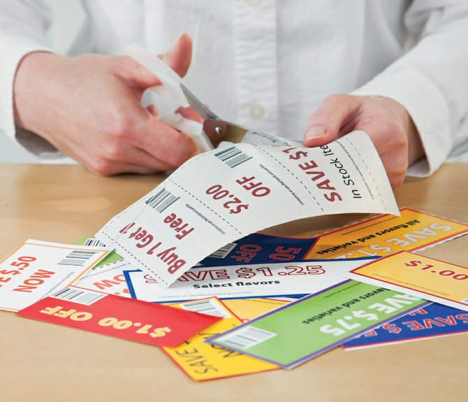 "Triple Threat columnist Jennifer Steuer studies the sales fliers and coupons with the intensity of one who studies ancient hieroglyphics. When the children were learning to speak, their first words were ""mama,"" ""dada"" and ""coupon."""