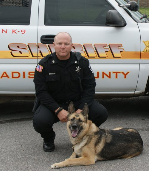 Madison County Deputy Lance Zaleski and Lida