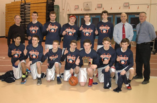 Section VII/Class C champion AuSable Valley Patriots.